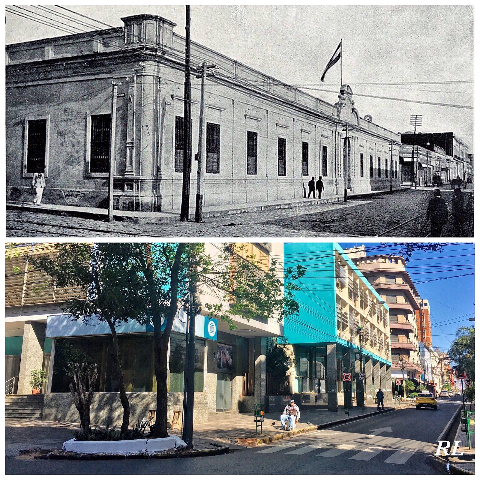 Palma Entre Chile Y Alberdi De Asuncionparaguay Landmarks Building Photography
