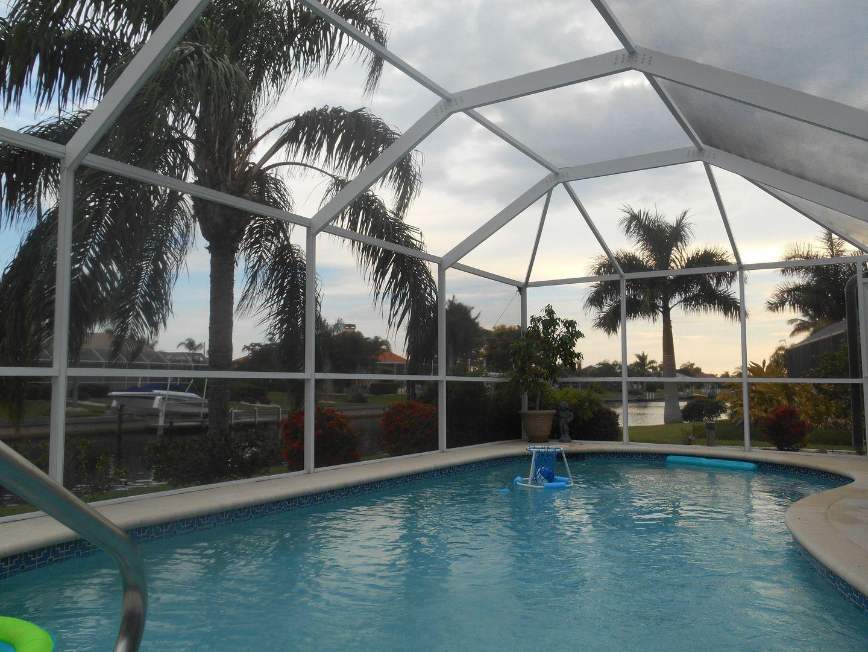 Rescreening Repair Pool Cages Screen Enclosures Lanais Cv Screening Llc Pool Cage Pool Decks Around Pools