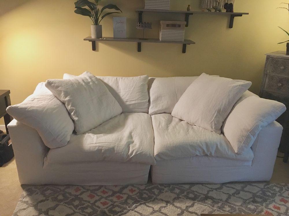 restoration hardware cloud sofa Restoration Hardware Cloud Luxe Couch   Delicious Sofas  restoration hardware cloud sofa