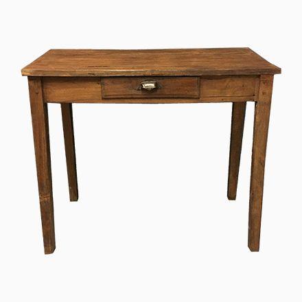 Kleiner Antiker Französischer Tisch mit Schublade Jetzt bestellen