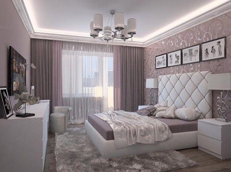 Love the curtains belos quartos quartos modernos casal - Chambre moderne ado ...