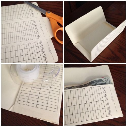 Diy Cash Envelope Template  Cash Envelope System Envelope System