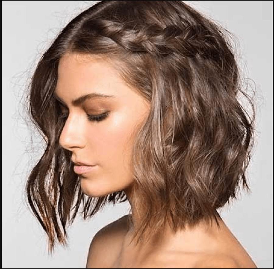 Trenzas fáciles para cabello corto hairstyles pinterest haircuts