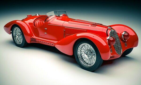 Alfa romeo 2900 del 1938- mille miglia