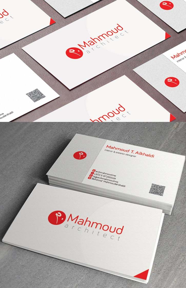 36 Modern Business Cards Examples For Inspiration Carte De