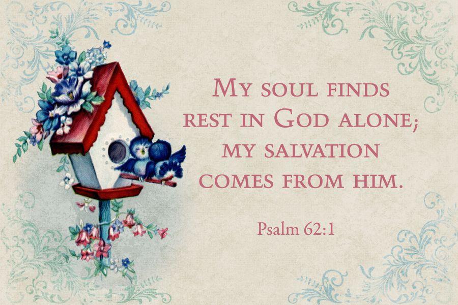 Psalm 62:1 ღϠ