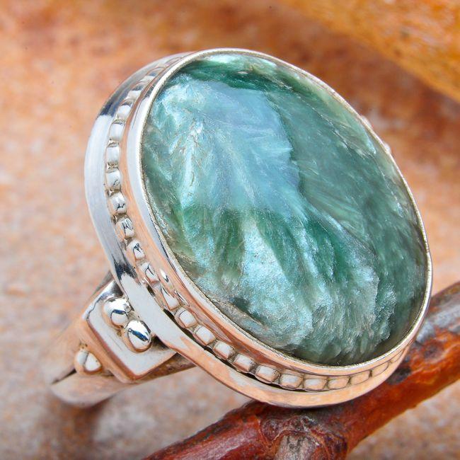 6 7 8 9 R01085TU SHABLOOL ISRAEL Didae Turquoise Sterling Silver 925 Ring Sz
