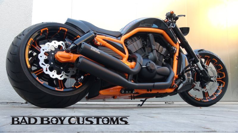 H D V Rod Custom Bike Carbon 5 By Bad Boy Customs V Rod Custom Custom Bikes Harley Bikes