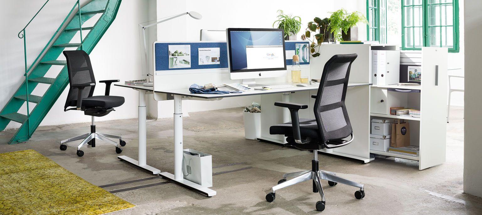 foxx_M Schreibtisch Büromöbel Wiesner-Hager | Wiesner Hager | Pinterest