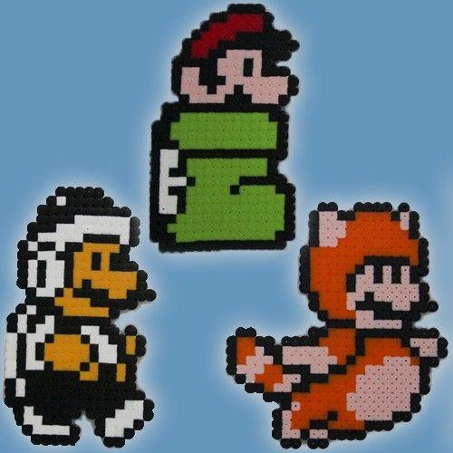 Super Mario Bros 3 Tanooki Suit Hammer Suit Goomba Shoe Suit