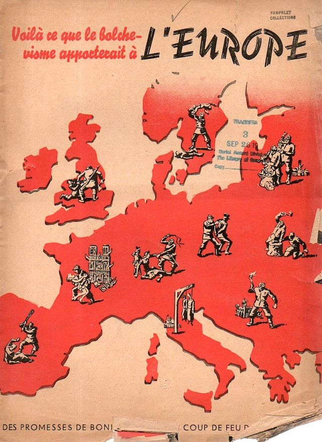 Anti Communist Propaganda Is More Awesome Than Any Horror Movie Poster Communist Propaganda History Posters Wwii Posters