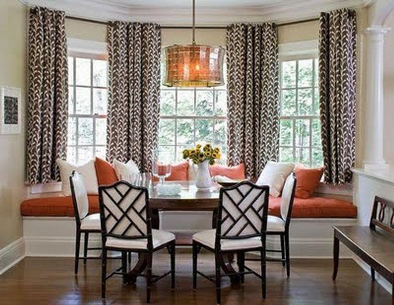 Bay Window Curtains Decor Kitchens Pinterest Bay Window