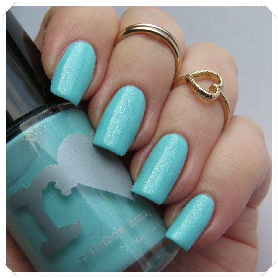 Rainbow Honey - Mint Flavor | Nagellack-Junkie | Nails (Swatches ...