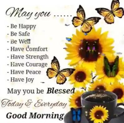 Good morning ????