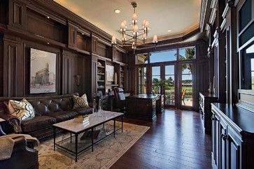 De Tuscaned   Traditional   Home Office   Miami   Clive Daniel Home
