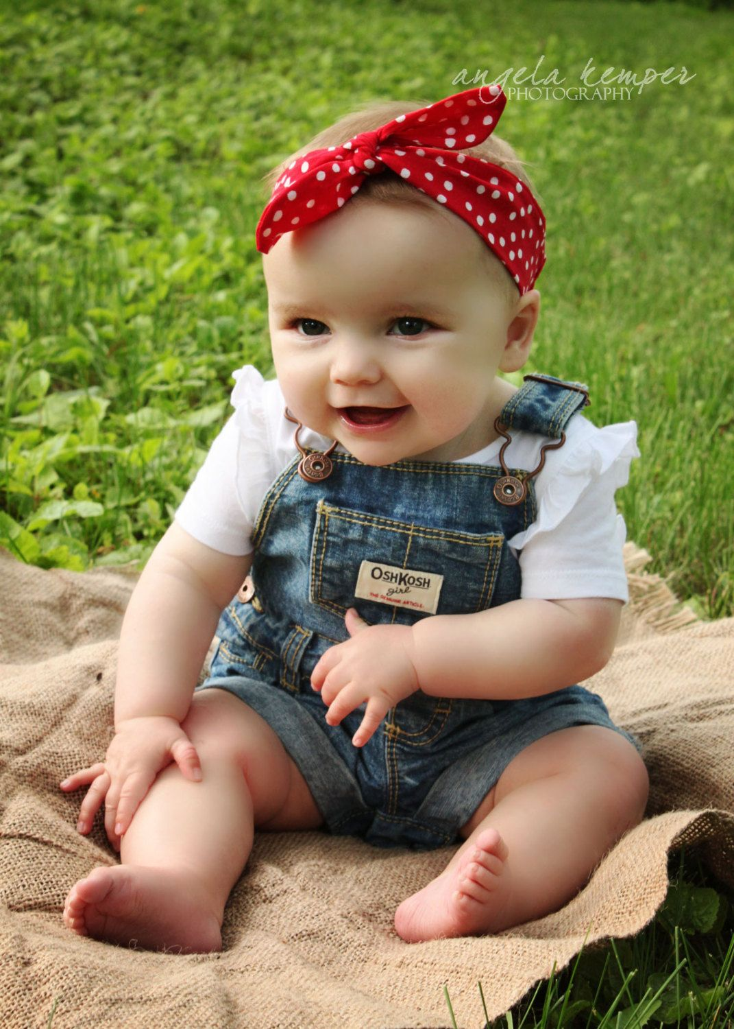 """Ready to Ship: The """"Rosie"""" Head Wrap - Newborn to Adult by snarkyowlcrafts on Etsy"""