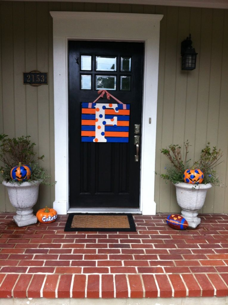 Gator Halloween Front Door Decor Probably Going To Do