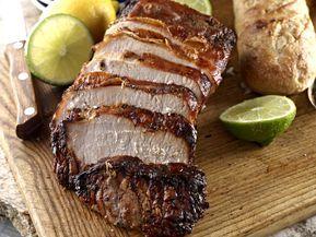 Jugoso y delicioso lomo de cerdo en salsa de cuatro chiles (receta picante)