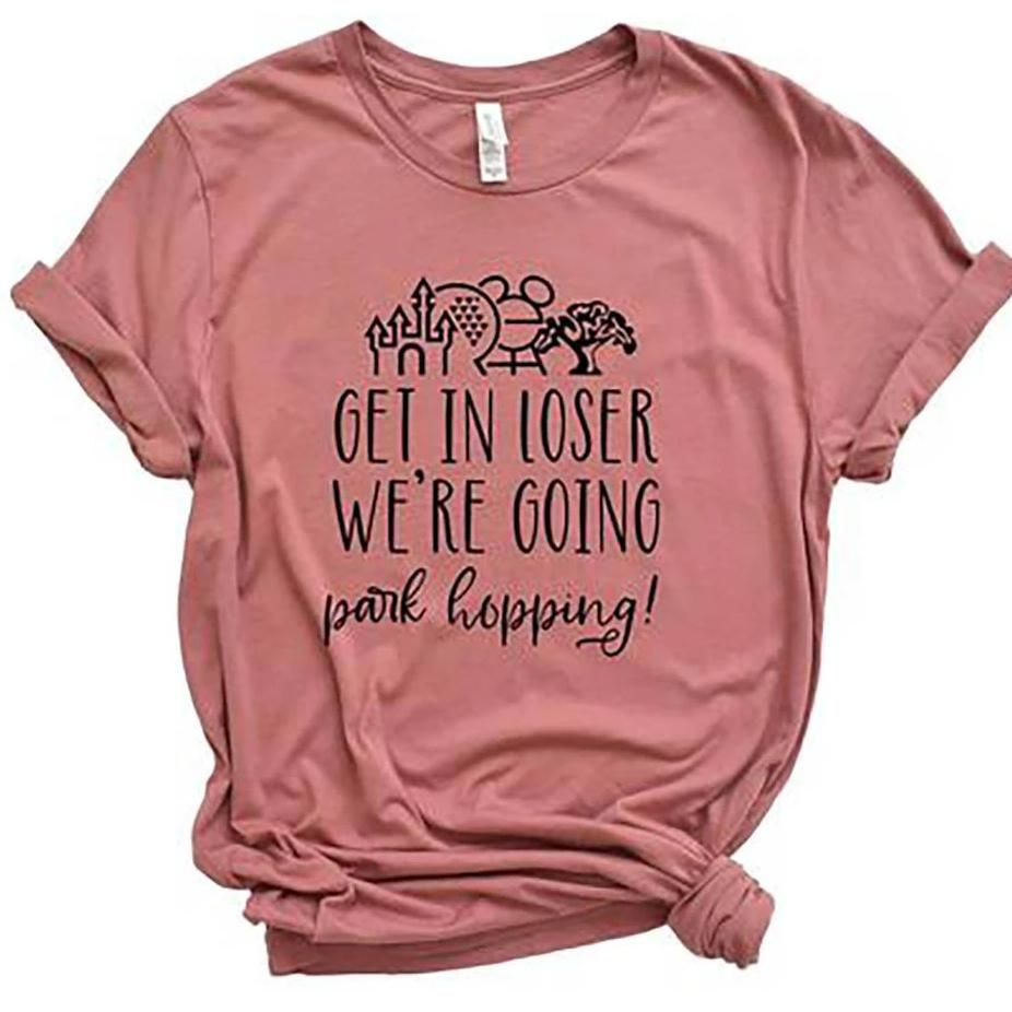 "Latest Funny Disney ""Get in Loser, We're Going Park Hopping"" Funny Disney Shirt ""Get in Loser, We're Going Park Hopping"" Funny Disney Shirt 6"