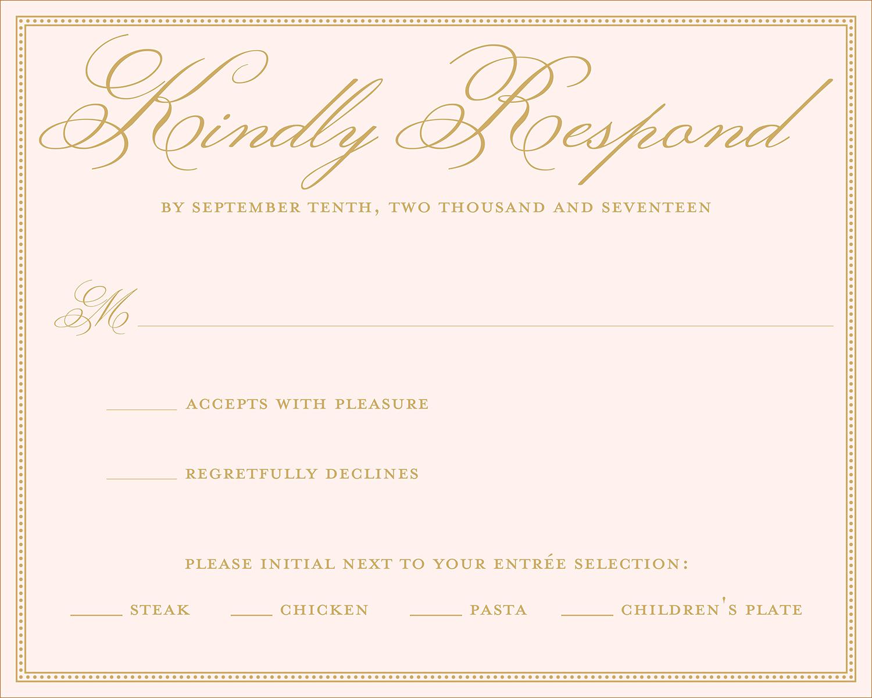 18 Wedding RSVP Wording Ideas Dinmatics additional
