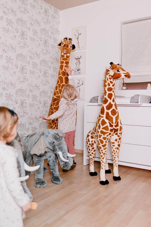 Standing Giraffe Stuffed Animal 65x35x180 Cm Brown Yellow Giraffe Stuffed Animal Big Stuffed Animal Giraffe [ 1240 x 827 Pixel ]