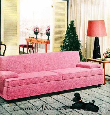 Couture Allure Vintage Fashion: Think Pink in 1955. The perfect pink ...