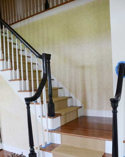 Best Awesome Chevron Carpet Runner For Stairs With Black Curved 400 x 300