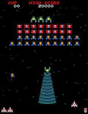 Image result for original galaga game