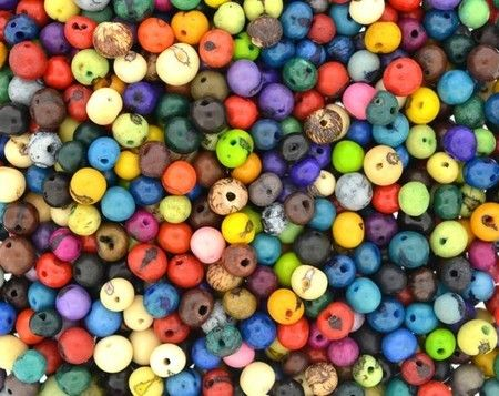 Sementes de Acaí Coloridas Ref: 4031
