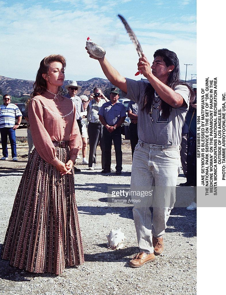 September 16 1994 Paramount Ranch Jane Sey Mour On The