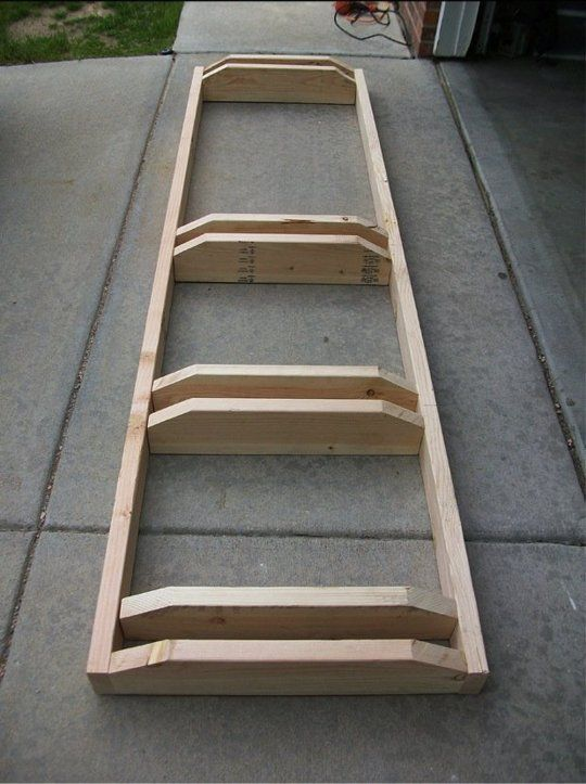 Ready to roll diy ideas for making your own bike stand garage