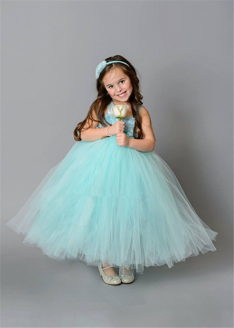 Green dress baby images  Mint Green Flower Girl Dresses For Party and Wedding Kids Girl