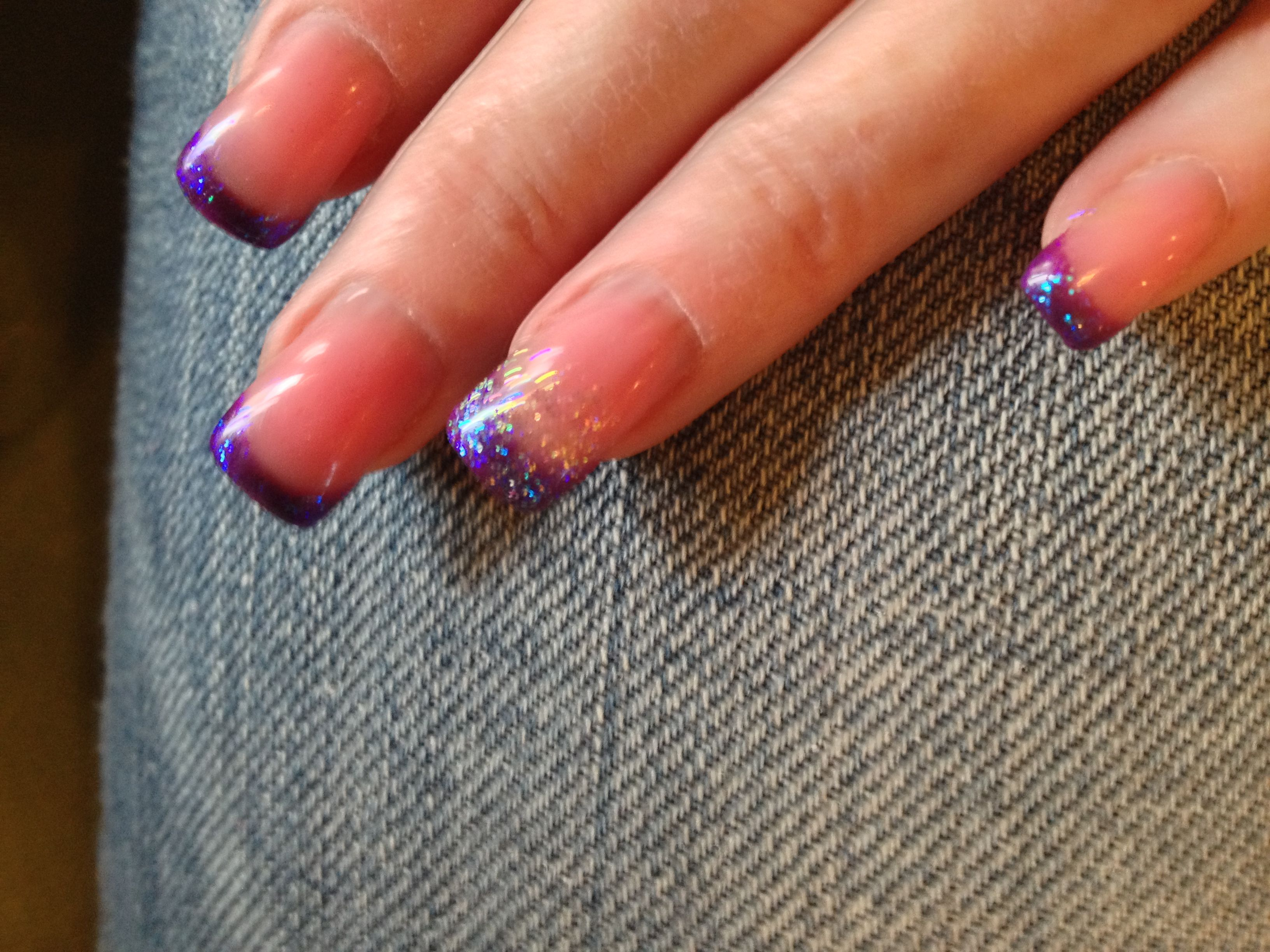 I have very flat and squatty nail beds so I like to add a hump and ...