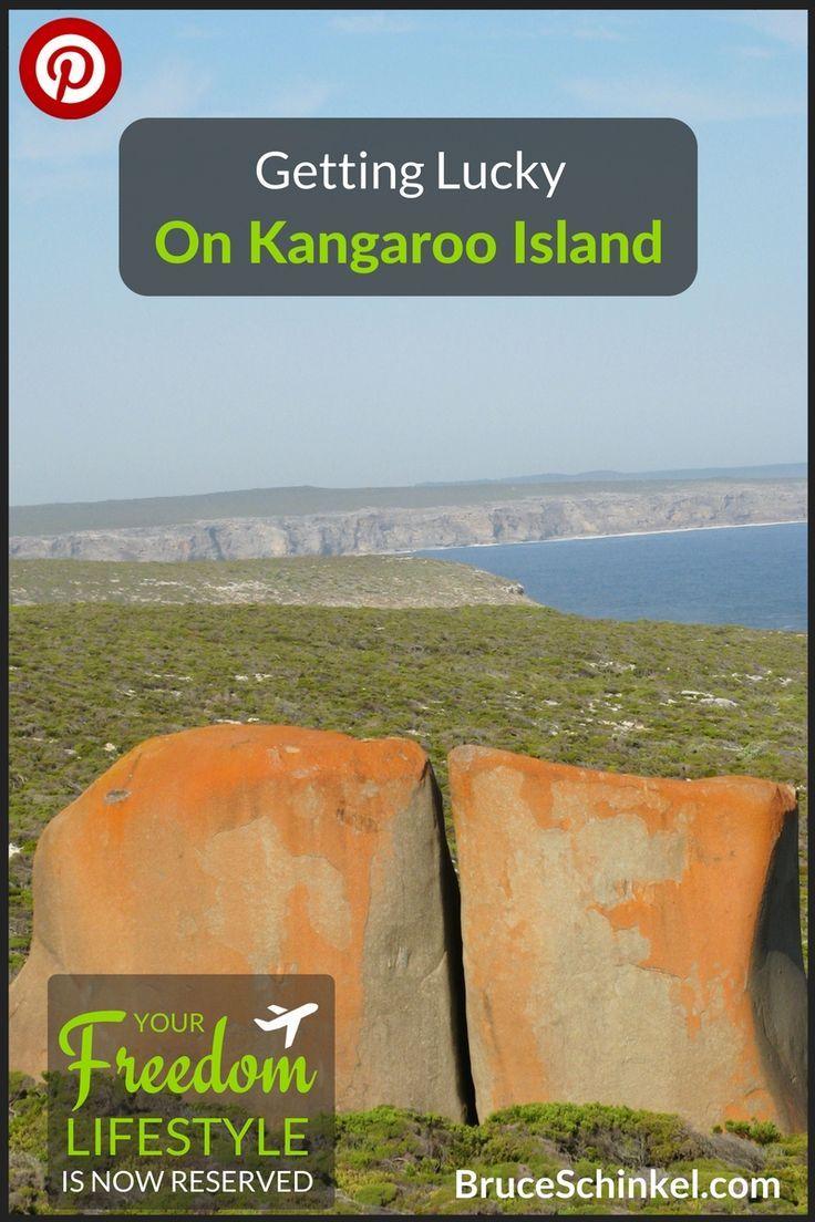 Getting Lucky on a Kangaroo Island Tour