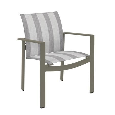 parkway sling stacking dining chair outdoor dining chairs brown rh pinterest com