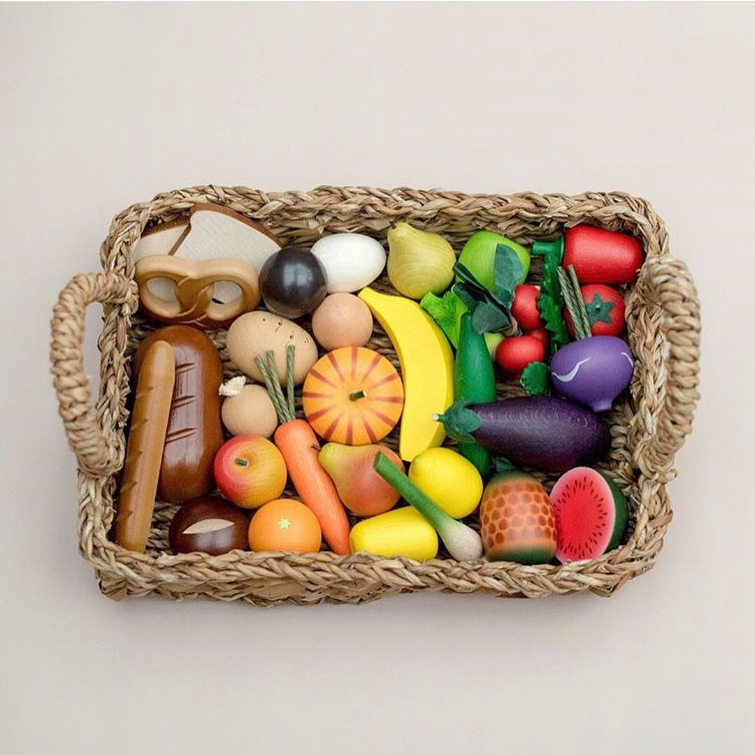 The Best Wooden Play Food Around Creativeimaginative Play For