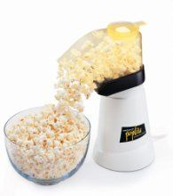 Poplite Hot Air Corn Popper for movie night!