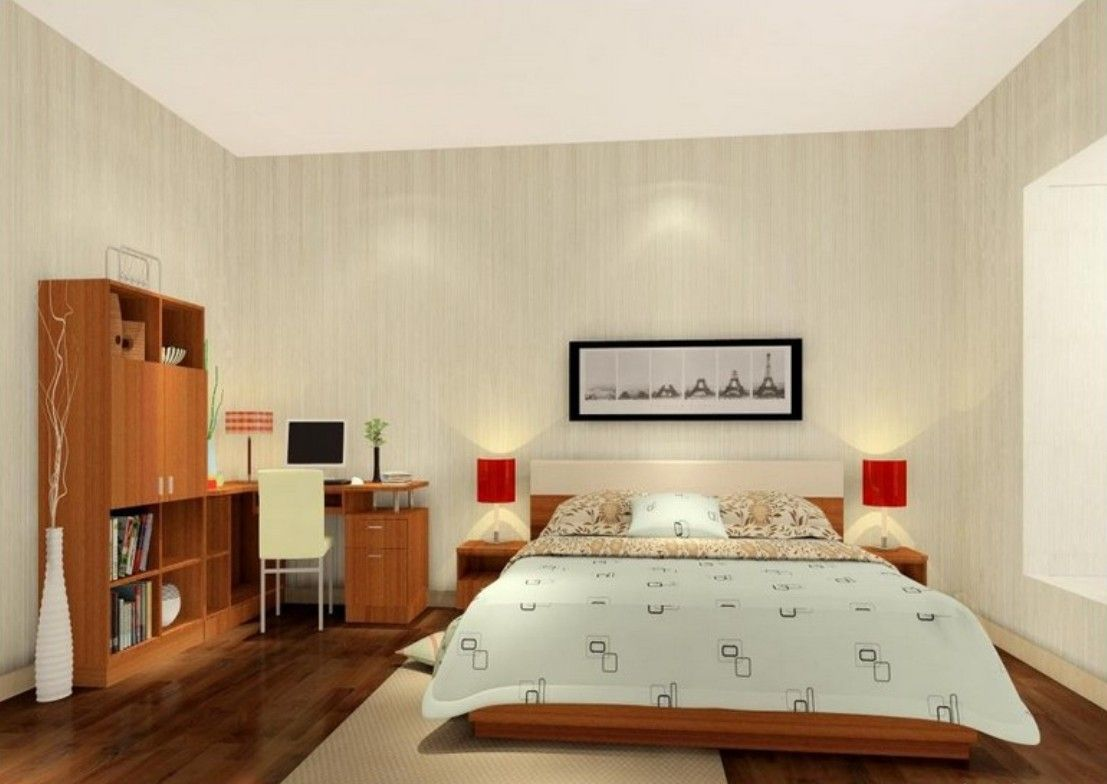 26 artistic simple bedrooms designs - Basic Bedroom Ideas