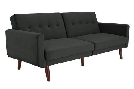 Excellent Dhp Nola Modern Futon Grey Velvet Grey Futon In 2019 Download Free Architecture Designs Viewormadebymaigaardcom