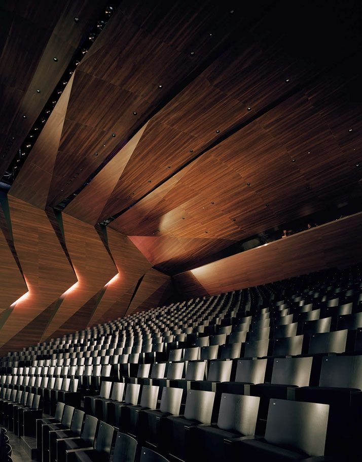 The Tiroler Festspiele Erl's New Festival Hall By Delugan