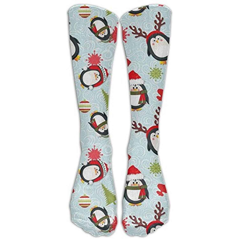ce898969c0 Holiday Penguins Christmas Upgraded Knee High Graduated Compression Socks  For Women And Men - Best Medical, Nursing, Travel #TeamSports