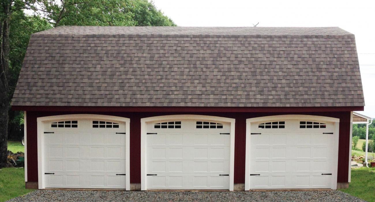Standard Maxibarn Three Car Prefab Garage Garage Ideas Prefab