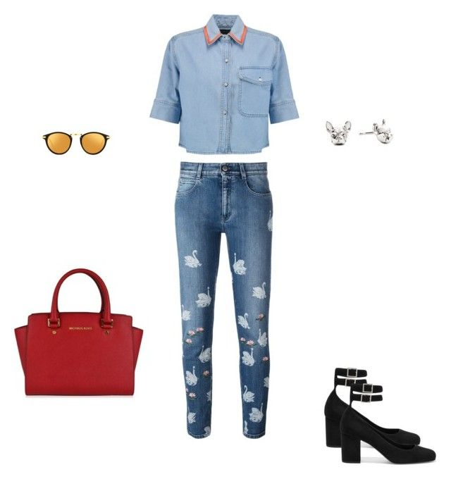 """""""Untitled #3341"""" by explorer-14576312872 ❤ liked on Polyvore featuring STELLA McCARTNEY, Être Cécile, Linda Farrow, Yves Saint Laurent and MICHAEL Michael Kors"""