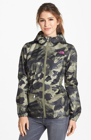 0e909c241 The North Face 'Karenna' Hooded Rain Jacket available at #Nordstrom ...