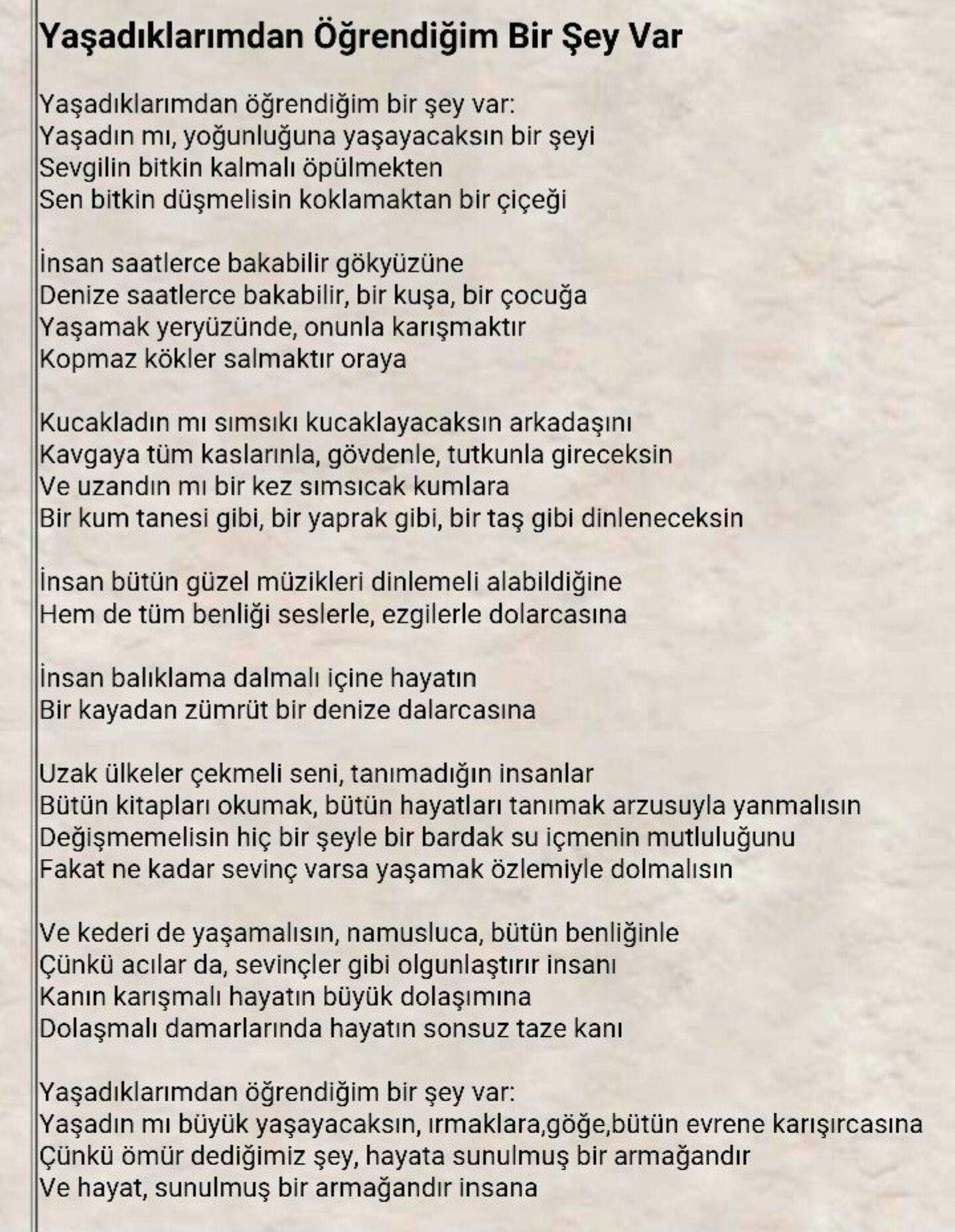 Ataol Behramoğlu Edebiyat Poems Poetry Ve Quotes