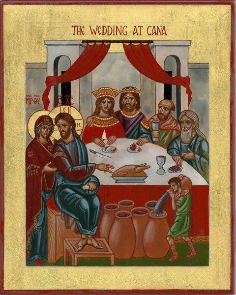 Wedding at Cana by Fr. Vladimir