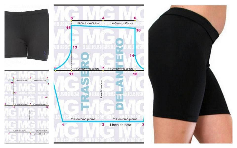 bicicletero | sewing | Pinterest | Sewing, Shorts and Sewing patterns