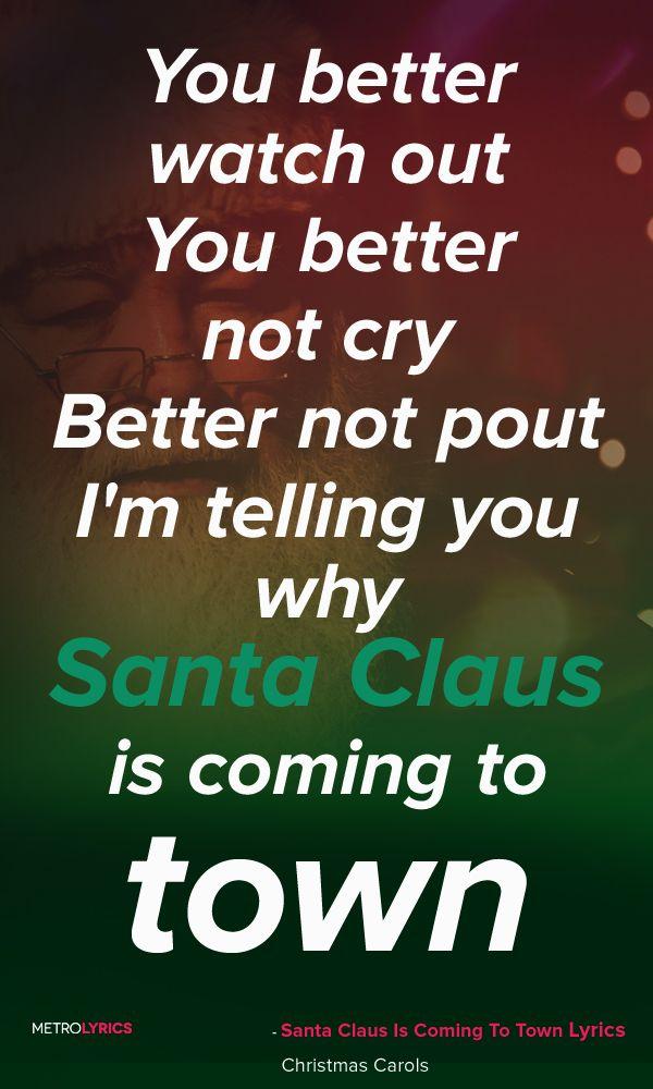 christmas carols santa claus