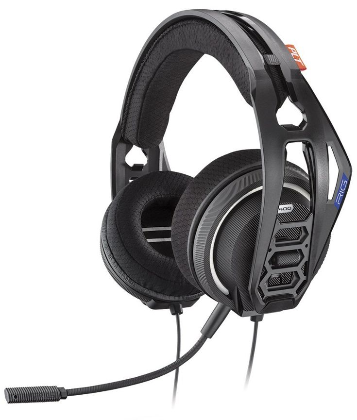The Plantronics RIG 400HS is an affordable wired gaming headset with