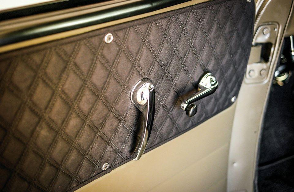 Diamond Stitch Door Panel Puxadores De Porta Carros Estofados